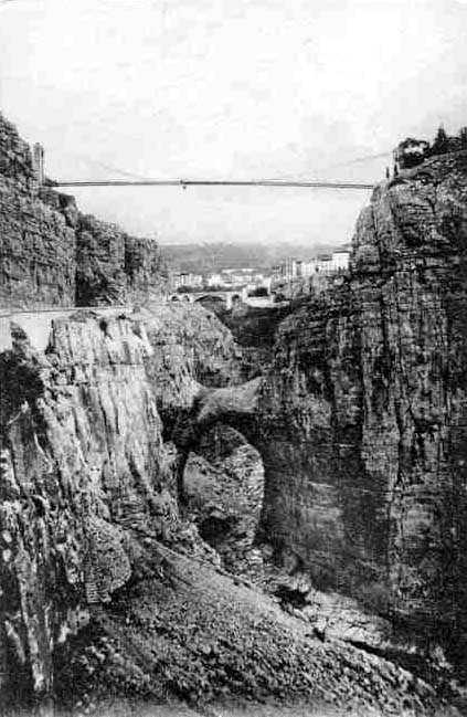 La ville des ponts for Piscine sidi m cid constantine