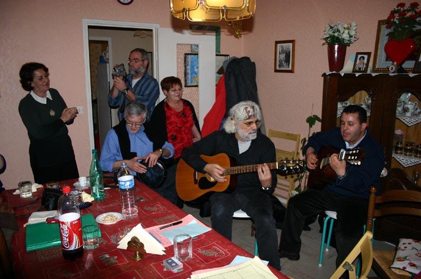 Rencontre des amis tunisiens